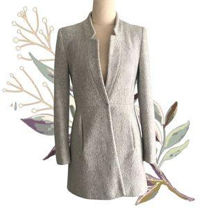 ZARA Single Breasted Soft Fluffy Winter Coat